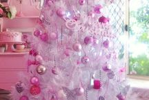 Emilia's  pink, lilac and teal Christmas