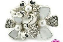 Paparazzi Rings! / Paparazzi Rings...ALL JUST $5!!!  Wear them as a hair accessory or even to tie a scarf!  Www.paparazziaccessories.com/21895 / by Katie Gordon