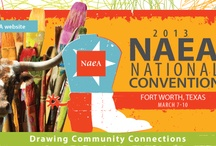 2013 NAEA National Convention / The NAEA National Convention is an annual event providing substantive professional development services that include the advancement of knowledge in all sessions, events, and activities for the purpose of improving visual arts instruction in American schools. As such, it is the world's largest art education convention. It is being held March 7-10 in Fort Worth, TX.