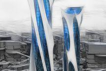 Utformet abnorm arkitektur