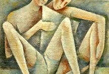 Two Figures in Art / Two Figures in Art