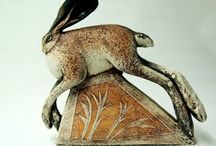 Ceramic Animals / And sculptures of animals that could have been made in clay / by Gelske Koopmans