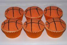 Basketball cakes / Various basketball themed cakes