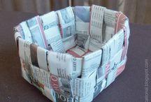 Κατασκευες με εφημεριδες