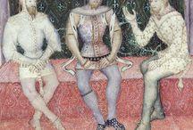 Strój średniowiecze XIV wiek