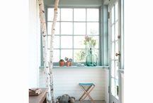 • Gekleurde raam - deur kozijnen