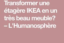 Transformer un meuble IKEA