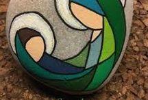 Picturi pe pietre