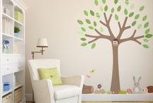 Woodland Spring Wall Sticker Collection / New Woodland Wall Sticker Collection  Spring 2016