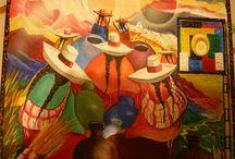 Pinturas etnicas lationoamericanas