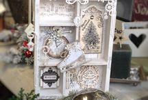 karácsonyi és vintage box