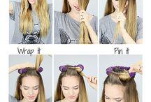 natáčení vlasů