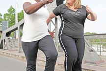 INDD (International No Diet Day) / No matter how much weight a human being has, sport and movement is always important.