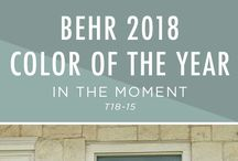 Behr. Color of the year