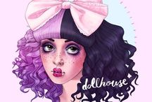 Melanie Martinez Drawings