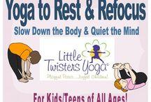 Restin yoga poses