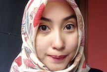 Hijab Beauties / Beautiful women in hijab