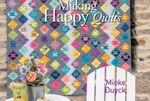 MIEKE DUYCK - MAKING HAPPY QUILTS