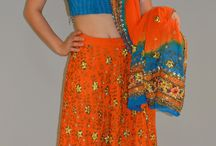Women's Saris and How to Wear them / Beautiful, colorful saris from India and ideas on where and when to wear a sari. Our vintage saris are from India and are one-of-kind pieces. www.vintageindianyc.com