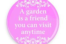 Gardening Buttons / Funny Buttons - Custom Buttons - Promotional Badges - Gardening Pins - Wacky Buttons