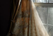 brides and the wedding dresses