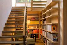 rak buku & tangga