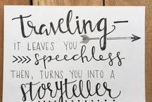 Traveling & storyteller