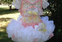 Pageant dresses/wear / by Karen lynn Crawford
