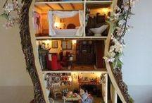 doll houses etc.