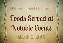 Blog - Historical Food / Part of the Historical Food Fortnightly Challenge.