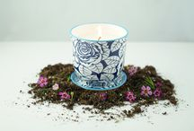 Flowers & Candles / Because flowers and candles are great to brighten up your day