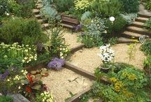 Jardins em declive