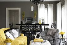 Interior Black & yellow