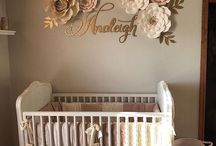 Babyroom and baby