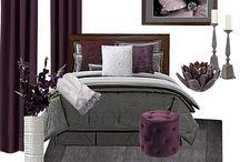 Plum Delightful Bedroom