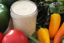 Salad dressings / by Leann Lindeman