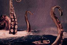 octopus, squid, jellyfish ♥