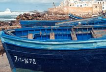 Essaouira / We love seaside Essaouira for the cool breezes and fresh seafood. But also for the thuya cooperatives where beautiful wooden items are created by hand!