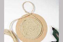 decoração com cordas