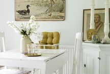 Dining rooms!! / I'm bragging people's creations that fit into my future house in my mind.