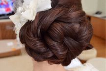 Up Up and Away / Up do's. Bridal, prom, fancy,  / by Alli Blue