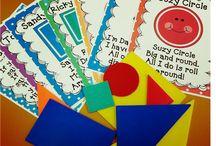 Teaching Pre-K Colors, Shapes, & Sciene / by Sarah Calteux