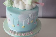 Cake inspiration - Baby Shower / Cakes and cupcake inspiration for Baby showers! X