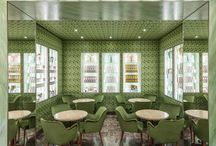 Pasticceria Marchesi - Milan / Production of glass and mirrors for the historic pastry Marchesi in milan (Italy).