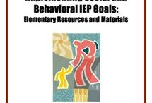 Tools for Clinicians / IEP writing assistance and organizational tips!