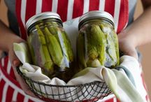 Pickles and Preserves: The Other Use for Mason Jars / by Lydia Danielle