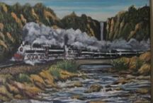 Art warehouse online / Steam trains of south africa