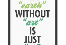 Art Inspiration / Innovative art and design ideas.