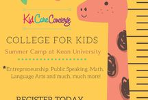 KCC: All Things Summer Camp / Summer Camp program information from Kid Care Concierge—your go to guide for all things parenting and life management!  During the Summer College for Kids Program at Kean University, your child will engage in fun and academically enriching summer camp experiences that mirror professional and college-level courses – including courses in Entrepreneurship, Public Speaking, Math, Language Arts and much, much more! Some students can even walk away from camp as a real published author!