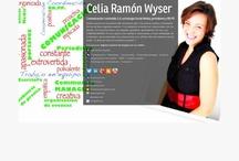 Sobre mí: Celia Ramón Wyser / Mi tarjeta de visita, mis post y otros trabajos que comparto en red.